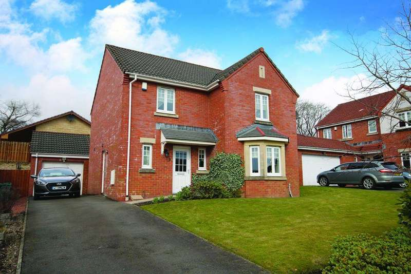 4 Bedrooms Detached House for sale in 5 Belhaven Place, Glenboig, ML5 2TE