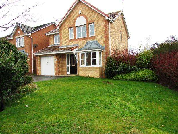 4 Bedrooms Detached House for sale in FAIRFIELD GROVE, MURTON, SEAHAM DISTRICT