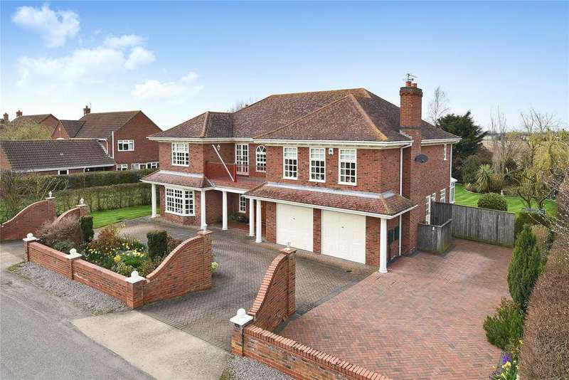 4 Bedrooms Detached House for sale in Reservoir Road, Surfleet, PE11
