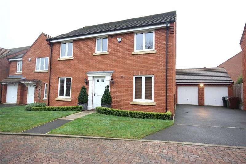4 Bedrooms Detached House for sale in Morrey Close, Wythall, Birmingham, B47