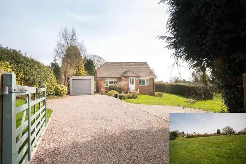 3 Bedrooms Bungalow for sale in Flitterbrook Lane, Punnetts Town, Heathfield, East sussex, TN21 9PQ