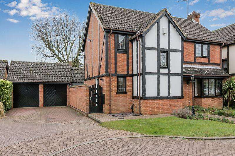 4 Bedrooms Detached House for sale in WOW FACTOR Home on Fulbourne Close, Luton!
