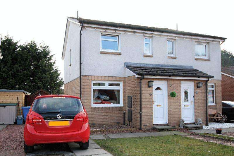 2 Bedrooms Semi Detached House for sale in 69 Mary Stevenson Drive, Alloa