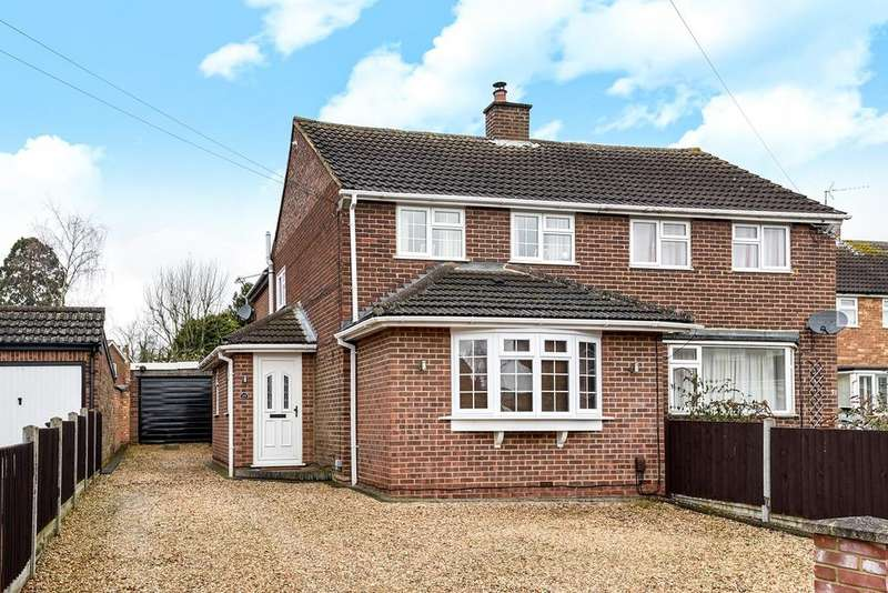 3 Bedrooms Semi Detached House for sale in Lyall Close, Flitwick, MK45
