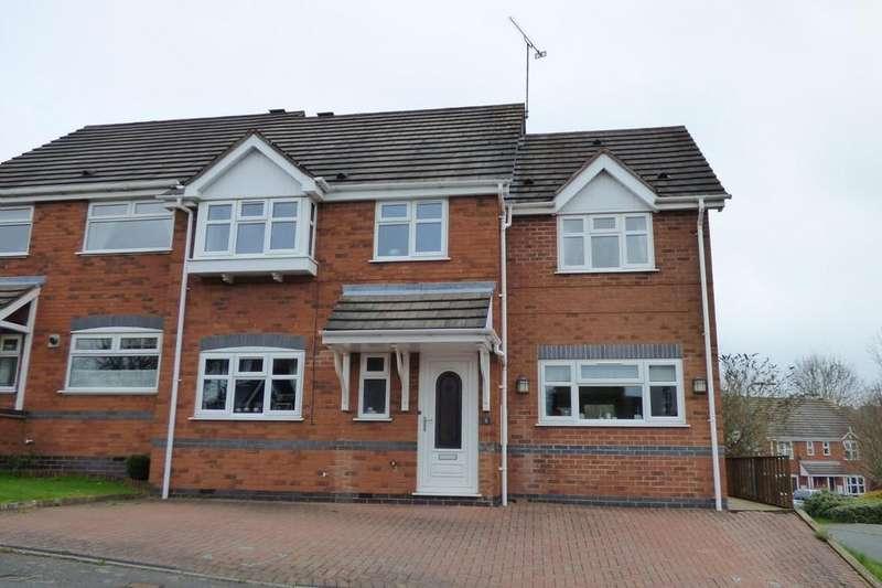 4 Bedrooms Semi Detached House for sale in Dalton Avenue, Stapenhill