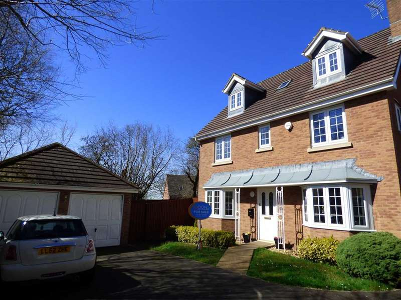 5 Bedrooms Detached House for sale in St Lawrence Park, Chepstow