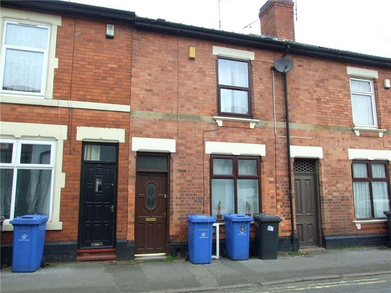 2 Bedrooms Terraced House for sale in Monk Street, Derby, Derbyshire, DE22