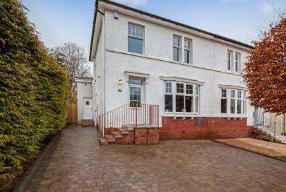 3 Bedrooms Semi Detached House for sale in Woodlands Street, Milngavie