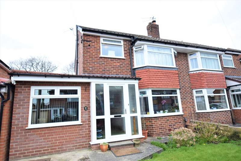3 Bedrooms Semi Detached House for sale in Rushfield Road Cheadle Hulme