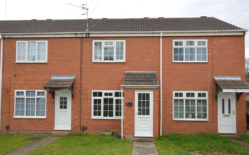 2 Bedrooms Terraced House for sale in Victoria Street, Brimington, Chesterfield, S43 1HY