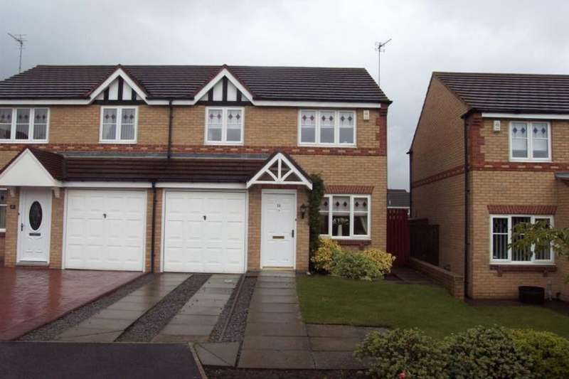 3 Bedrooms Semi Detached House for rent in Harewood Crescent, Stockton-On-Tees, TS19