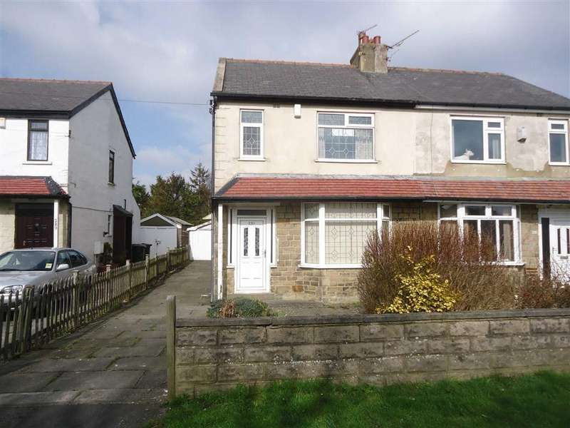 3 Bedrooms Semi Detached House for sale in Poplar Grove, Bradford, West Yorkshire, BD7