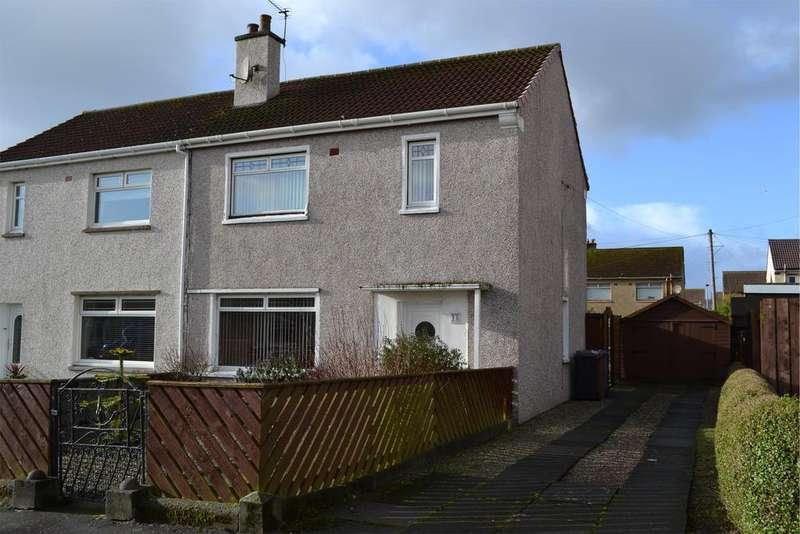 3 Bedrooms Semi Detached House for sale in 35 Millglen Road, Ardrossan, KA22 7EB