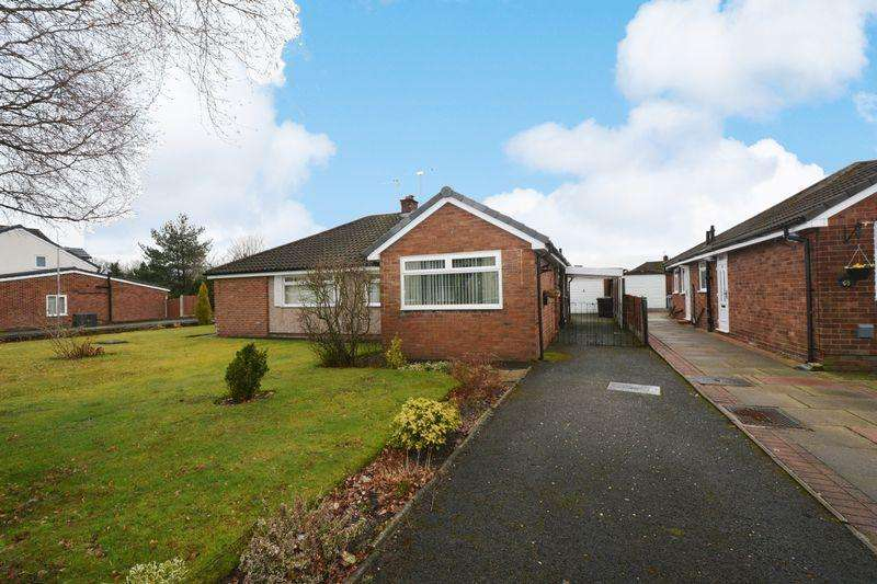 2 Bedrooms Semi Detached Bungalow for sale in Oakdale Drive, Heald Green, Cheadle