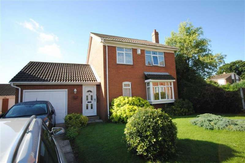 3 Bedrooms Detached House for sale in Brecks Gardens, Kippax, Leeds, LS25