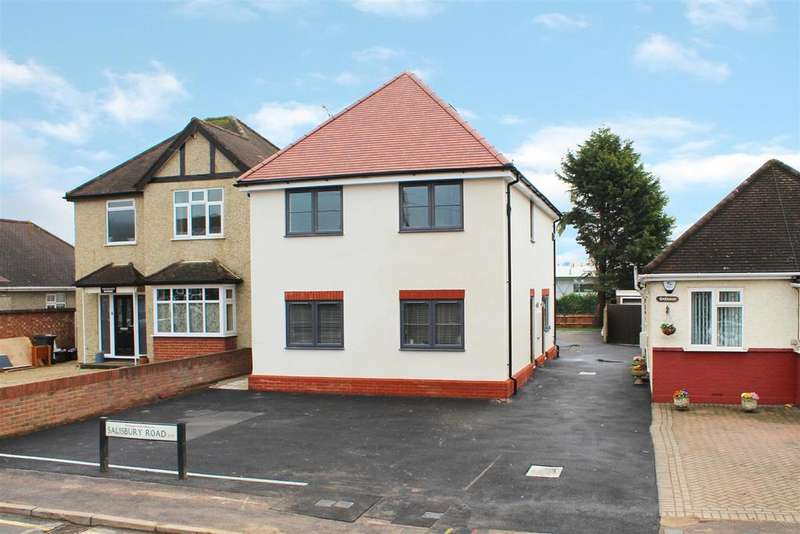 3 Bedrooms Maisonette Flat for sale in Salisbury Road, Spilt level with two extra rooms, Hoddesdon