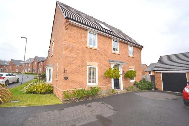 4 Bedrooms Detached House for sale in Sutton Avenue, Heritage Park, Silverdale