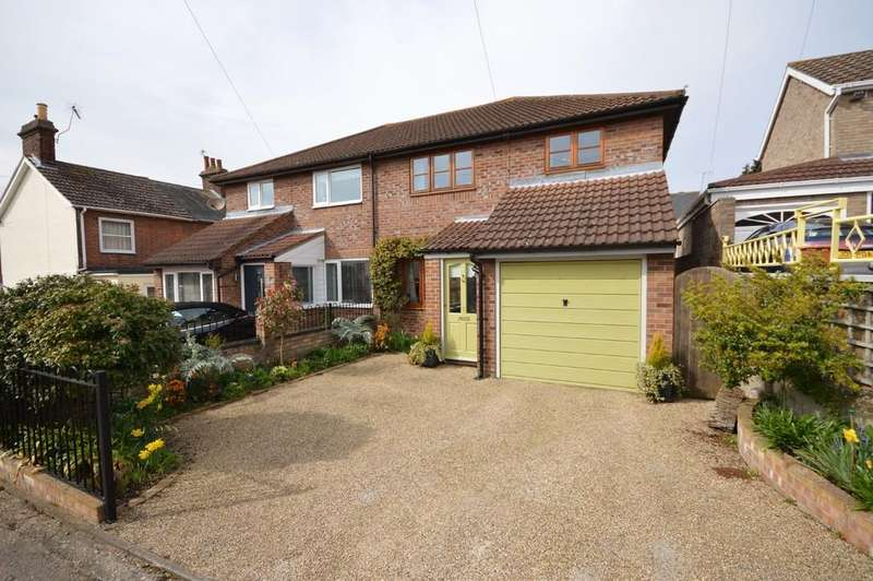 3 Bedrooms Semi Detached House for sale in Chapel Cut, Mistley