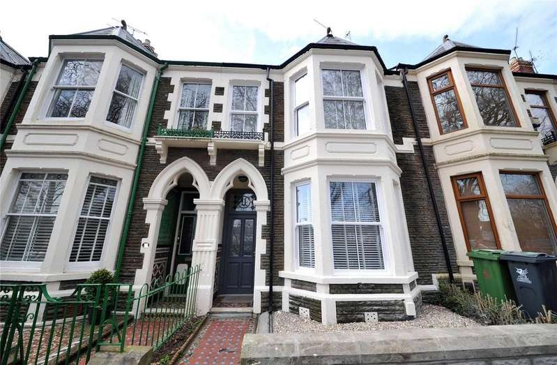 3 Bedrooms Terraced House for sale in Clun Terrace, Cathays, Cardiff, CF24