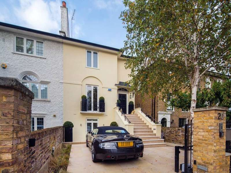 4 Bedrooms Semi Detached House for sale in Hill Road, St John's Wood, London, NW8
