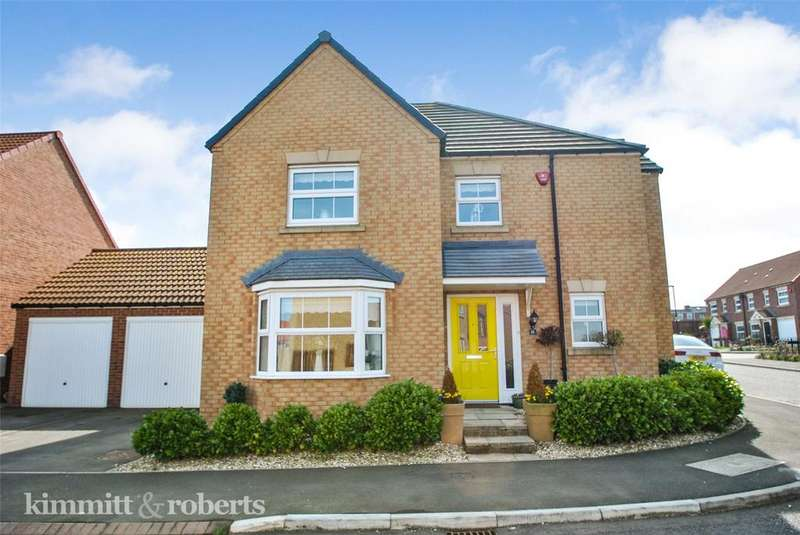 4 Bedrooms Detached House for sale in Chaffinch Road, Easington Lane, Houghton le Spring, DH5