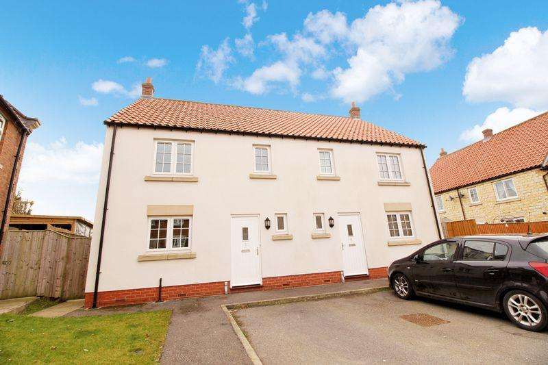 3 Bedrooms Semi Detached House for sale in Old Manor Court,Seamer, Scarborough