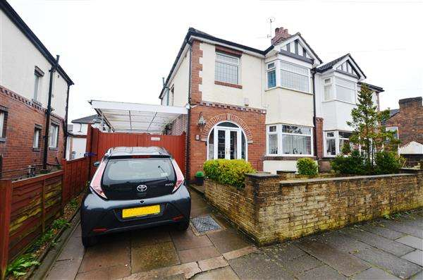 3 Bedrooms Semi Detached House for sale in Osbourne Road, Hartshill, Stoke-On-Trent