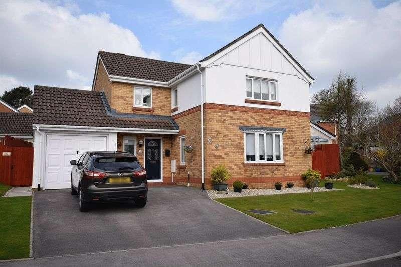 4 Bedrooms Property for sale in 50 Dol Nant Dderwen, Broadlands, Bridgend