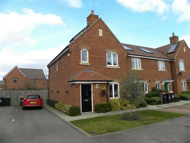 3 Bedrooms End Of Terrace House for sale in Sherwood Close, Wootton, Bedford