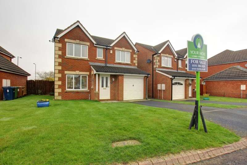 4 Bedrooms Detached House for sale in Torrington Close, Houghton Le Spring, DH4