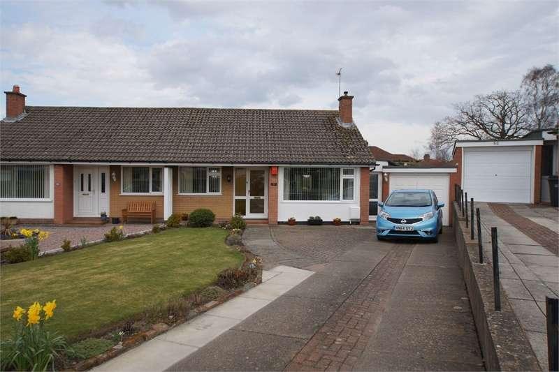 3 Bedrooms Semi Detached Bungalow for sale in CA2 6HD Wansfell Avenue, off Dalston Road, CARLISLE, Cumbria