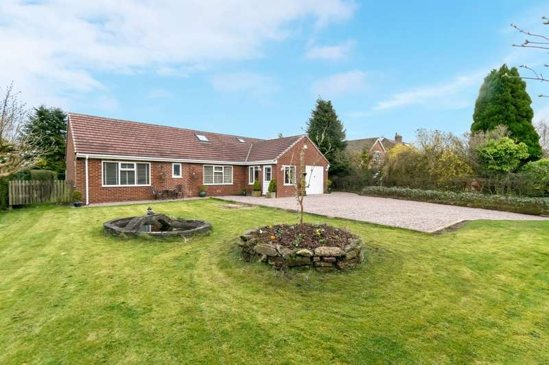 5 Bedrooms Detached House for sale in Top Road, Kingsley, Frodsham, WA6