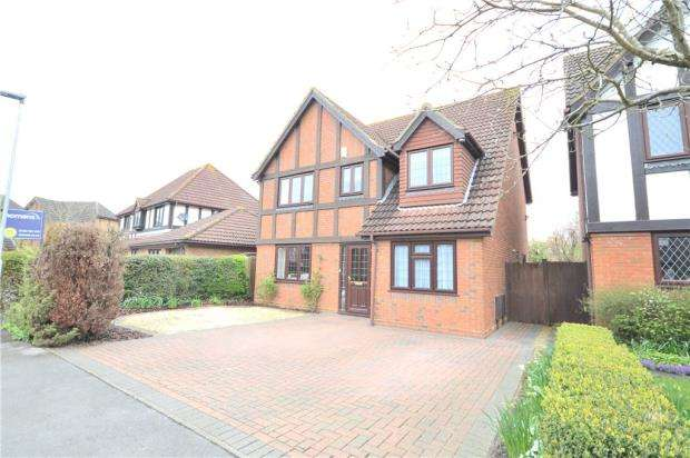 4 Bedrooms Detached House for sale in Munnings Drive, College Town, Sandhurst