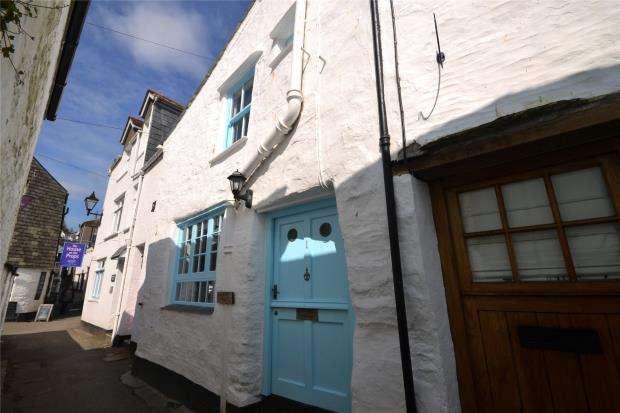 2 Bedrooms Terraced House for sale in Crumpled Cottage, The Warren, Polperro, Looe