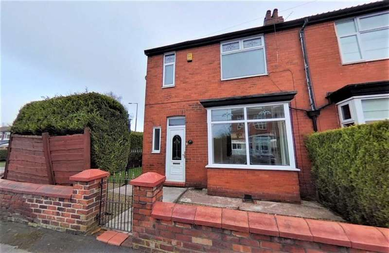 3 Bedrooms Semi Detached House for sale in Woodbury Road, Cheadle Heath, Stockport