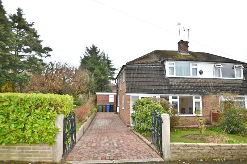 4 Bedrooms Semi Detached House for sale in Green Walk, Gatley