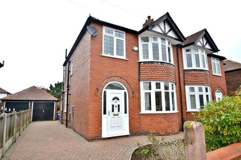 3 Bedrooms Semi Detached House for sale in Cranston Grove, Gatley