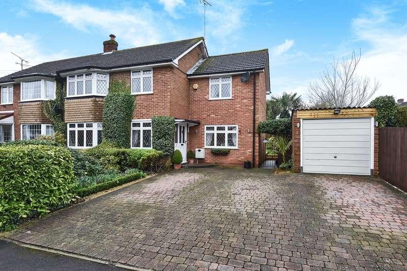 4 Bedrooms Semi Detached House for sale in Loggon Road, Harrow Way, Basingstoke, RG21