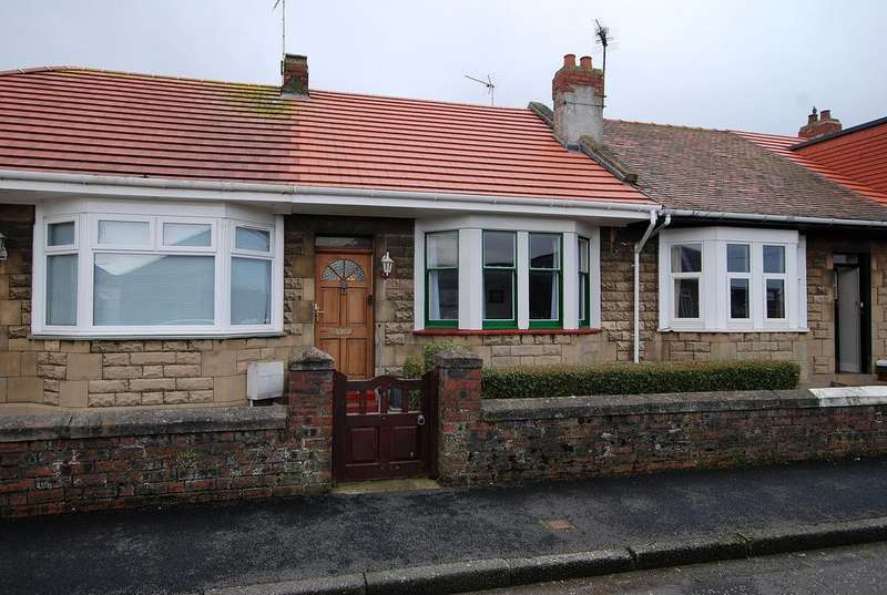 2 Bedrooms Terraced Bungalow for sale in 27 Annfield Road, PRESTWICK, KA9 1PP