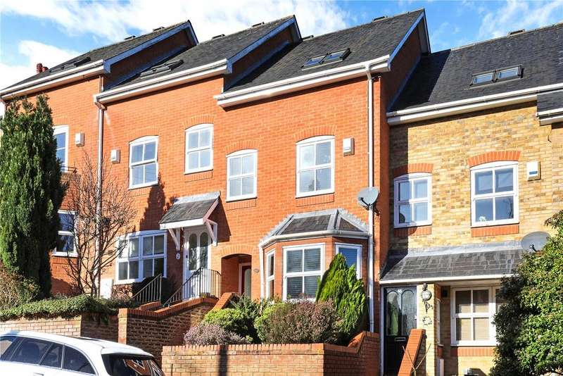 3 Bedrooms Terraced House for sale in Cross Oak Road, Berkhamsted, Hertfordshire, HP4