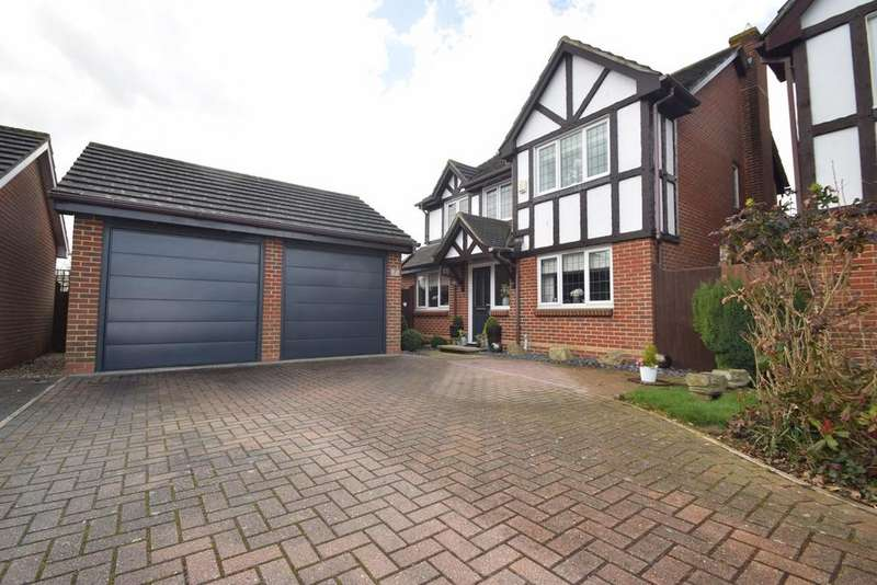 4 Bedrooms Detached House for sale in Burton Close, Wainscott, Rochester, ME3