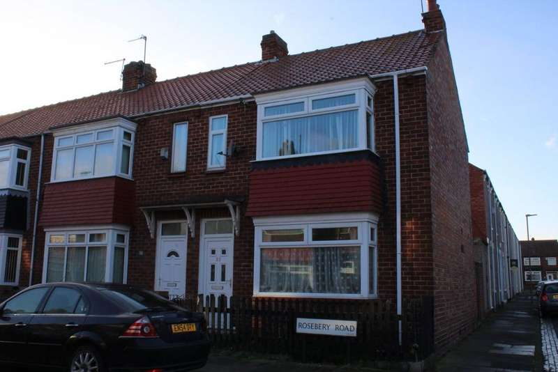 2 Bedrooms House for rent in Roseberry Road, Hartlepool