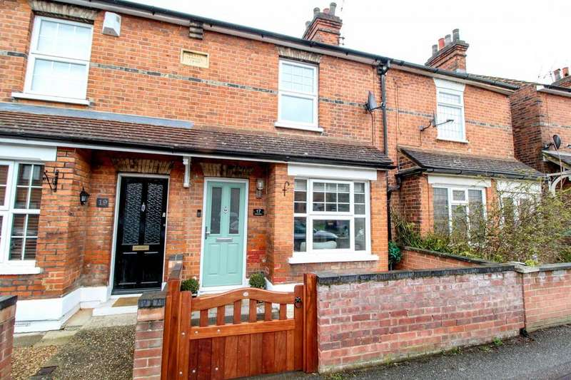 2 Bedrooms Terraced House for sale in Victoria Road, Warley, Brentwood, Essex, CM14