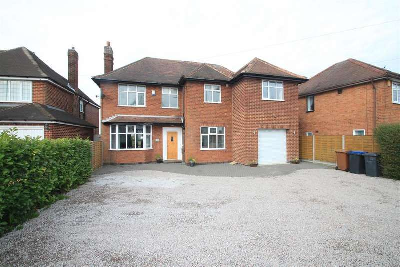 5 Bedrooms Detached House for sale in Ashby Road, Hinckley