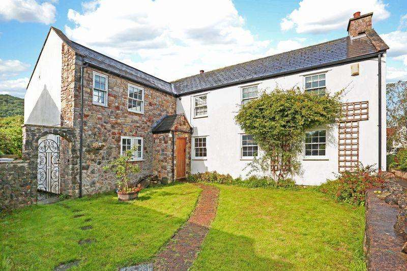4 Bedrooms Detached House for sale in Frog Lane, Ubley, Chew Valley, Somerset, BS40 6PW