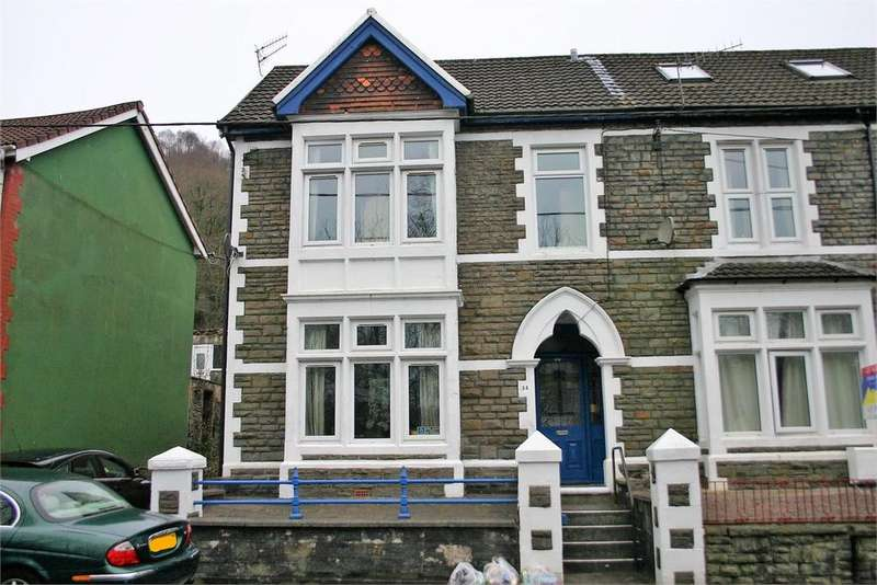 3 Bedrooms End Of Terrace House for sale in 34 Llantwit Road, Treforest, Pontypridd, Rhondda, Cynon, Taff, CF37 1TY