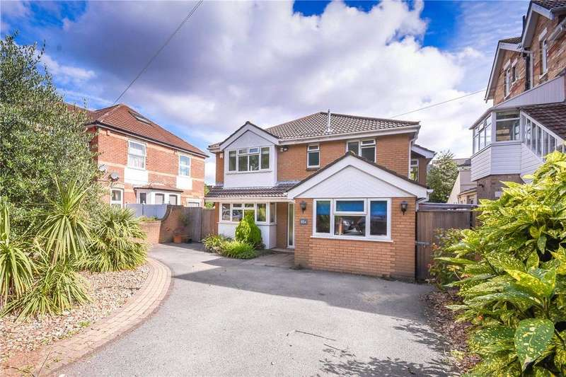 4 Bedrooms Detached House for rent in Alumhurst Road, Bournemouth, Dorset, BH4