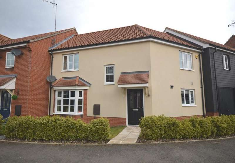 3 Bedrooms Terraced House for sale in Fred Ackland Drive, Kings Lynn