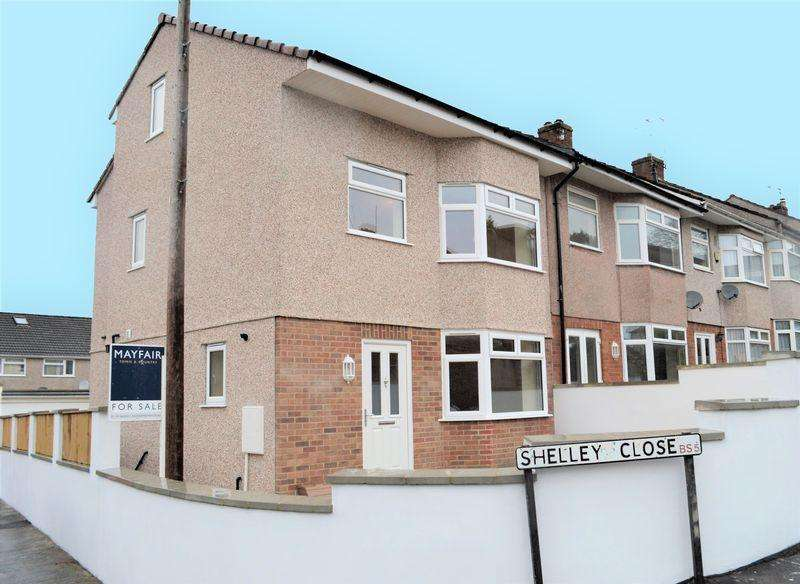 3 Bedrooms Terraced House for sale in Shelley Close, St George