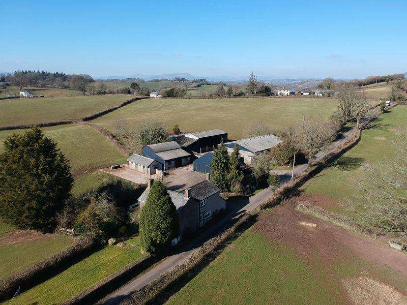 3 Bedrooms Farm House Character Property for sale in Farmhouse Land, Dingestow, Monmouth
